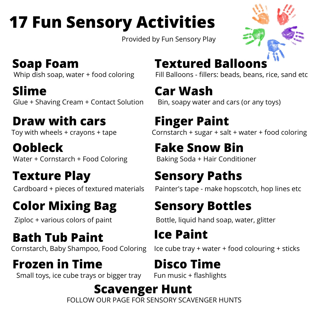 Fun Sensory Activity Play