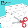 cutting practice pdf 3 year old worksheet